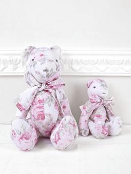 Αρκούδοι-υφασμάτινοι-λουλουδάτοι