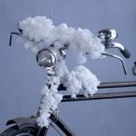 Λουλουδάκι υφασμάτινο λευκό