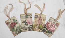 Μαγνητάκια-Vintage-roses-(4-σχέδια-σετ)