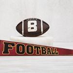 Μπάλα και πινακίδα football