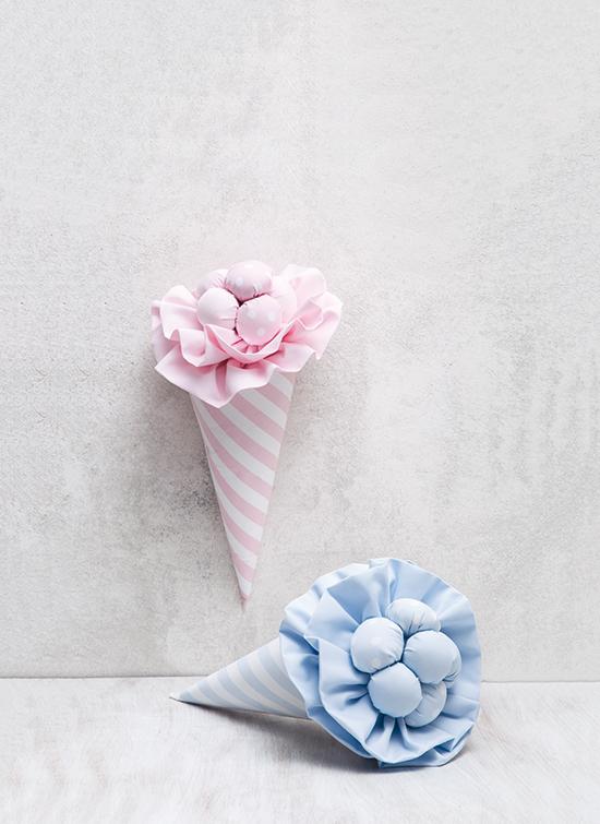 Πάνινο-παγωτό-ροζ