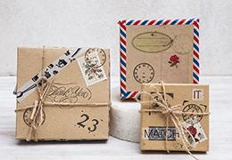 Χάρτινα μαλακά κουτιά