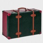 Βαλίτσα ταξιδίου πράσινη-μπορντώ-ταμπά