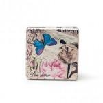 Κουτάκι τετράγωνο butterfly