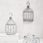 Kλουβάκια και ποδήλατο grey-white vintage